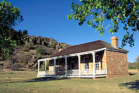 Fort Davis National Historic Site, National Park Service. Cavalry post. Officers quarters. Fort Davis Texas.