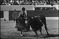 11 Mai 1969. Vue de la corrida de Miguelin dans les arènes de Toulouse.