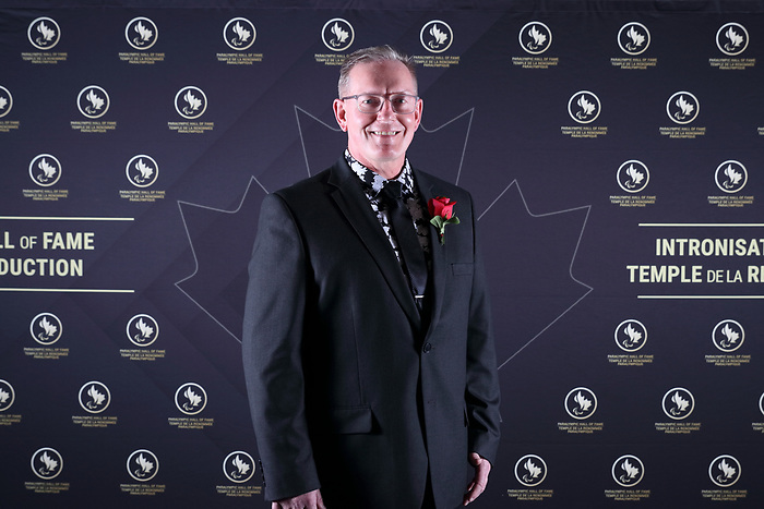 Vancouver, B.C. - November 15th, 2019 - Joe Rea was one of the seven people inducted at the 2019 Canadian Paralympic Hall of Fame Induction Ceremony. Photo: Lydia Nagai/Canadian Paralympic Committee