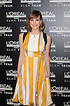 Spanish actress Natalia de Molina poses during a Loreal promotional presentation in Madrid, Spain. January 14, 2016. (ALTERPHOTOS/Victor Blanco)