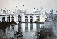 Mines and Mining Building, designed by Solon Spencer Beman. Part of Columbian World Exposition 1893. Chicago.
