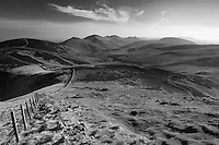 Castlelaw Hill, Turnhouse Hill, Carnethy Hill and Scald Law from Allermuir Hill, The Pentland Hills, The Pentland Hills Regional Park, Lothian
