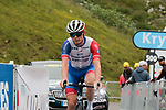 David Gaudu (FRA) Groupama-FDJ on the final climb of Luz-Ardiden during Stage 18 of the 2021 Tour de France, running 129.7km from Pau to Luz-Ardiden, France. 15th July 2021.  <br /> Picture: Colin Flockton   Cyclefile<br /> <br /> All photos usage must carry mandatory copyright credit (© Cyclefile   Colin Flockton)