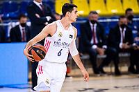 11th April 2021; Palau Blaugrana, Barcelona, Catalonia, Spain; Liga ACB Basketball, Barcelona versus Real Madrid; 6 Abalde of Real Madrid during the Liga Endesa match