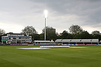 Rain stops play and the covers are on the pitch during Essex CCC vs Nottinghamshire CCC, LV Insurance County Championship Group 1 Cricket at The Cloudfm County Ground on 6th June 2021