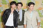 Joe Jonas,Kevin Jonas & Nick Jonas at The 2009 Nickelodeon's Kids Choice Awards held at Pauley Pavilion in West Hollywood, California on March 28,2009                                                                     Copyright 2009 Debbie VanStory/RockinExposures
