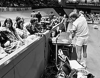 1984, ABN WTT, Connors en zijn vrouw (1e links)