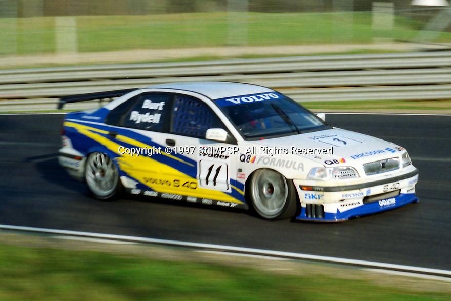 British Touring Car Championship Media day. Volvo S40 Racing. Volvo S40.