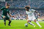 Marcelo Vieira Da Silva of Real Madrid in action during the La Liga 2017-18 match between Real Madrid and Real Betis at Estadio Santiago Bernabeu on 20 September 2017 in Madrid, Spain. Photo by Diego Gonzalez / Power Sport Images