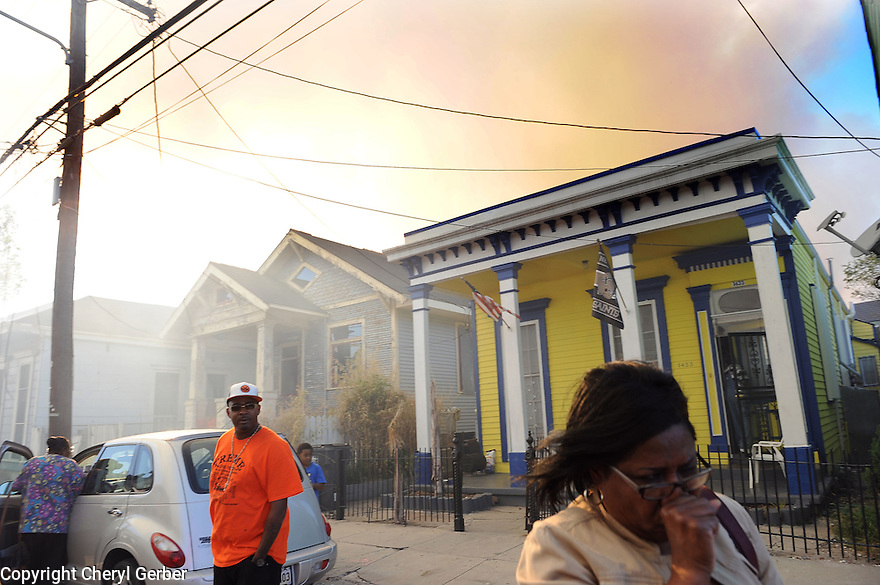 Fire in Treme