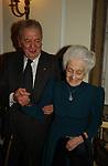 RITA LEVI MONTALCNI CON MIRKO TREMAGLIA    ROMA 2003