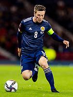 4th September 2021; Hampden Park, Glasgow, Scotland: FIFA World Cup 2022 qualification football, Scotland versus Moldova: Callum McGregor of Scotland
