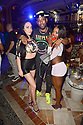 MIAMI BEACH, FL - APRIL 18: Nina Rari and Guest attends Jake Paul afterparty hosted by Celebrity Sports Entertainment (CSE) at The Villa Casa Casuarina At The Former Versace Mansion on April 18, 2021 in Miami Beach, Florida. Jake Paul made an appearance to his afterparty to celebrate his win after defeating Ben Askren in a first round TKO bout yesterday inside Mercedes-Benz Stadium in Atlanta.  ( Photo by Johnny Louis / jlnphotography.com )