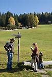 Italien, Suedtirol, Hafling: Wandergebiet oberhalb Merans | Italy, South Tyrol, Alto Adige, Avelengo: hinking area above Merano
