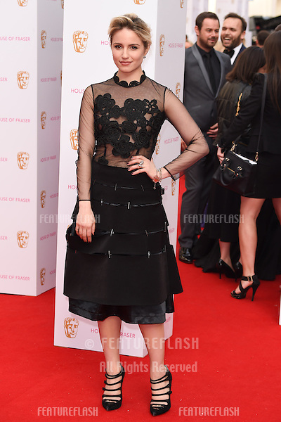 Dianna Agron<br /> arrives for the 2015 BAFTA TV Awards at the Theatre Royal, Drury Lane, London. 10/05/2015 Picture by: Steve Vas / Featureflash
