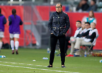 CARSON, CA - FEBRUARY 07: Canadian Women's head coach Amelia Valverde during a game between Canada and Costa Rica at Dignity Health Sports Complex on February 07, 2020 in Carson, California.