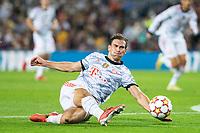 14th September 2021: Nou Camp, Barcelona, Spain: ECL Champions League football, FC Barcelona versus Bayern Munich: Leon Goretzka of Bayern Munich in action