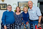 Sisters, Bridget Sweeney and Joan Wheeler from Tralee celebrating their birthdays in Cassidys on Friday. L to r: Brendan and Bridget Sweeney, Joan and John Wheeler.