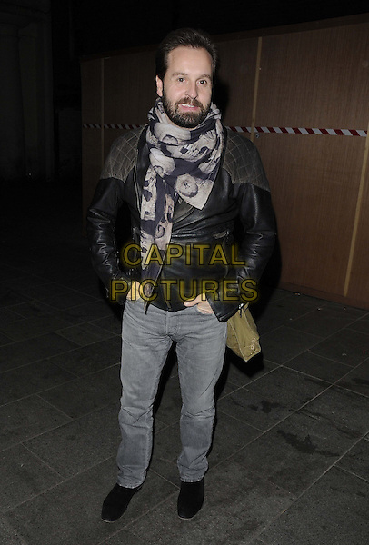 LONDON, ENGLAND - NOVEMBER 30: Alfie Boe attends the Harry Shearer's Holiday Sing-Along, Leicester Square Theatre, Leicester Place, on Saturday November 30, 2013 in London, England, UK.<br /> CAP/CAN<br /> ©Can Nguyen/Capital Pictures