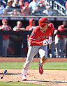 MLB: Los Angeles Angels' Shohei Otani during Spring training game against San Diego Padres