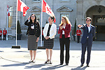 Tricia Smith, Kirsty Duncan,  Julie Payette, and Marc-Andre Fabien, PyeongChang 2018. <br />