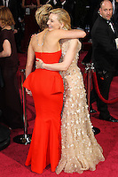 HOLLYWOOD, CA, USA - MARCH 02: Jennifer Lawrence, Cate Blanchett at the 86th Annual Academy Awards held at Dolby Theatre on March 2, 2014 in Hollywood, Los Angeles, California, United States. (Photo by Xavier Collin/Celebrity Monitor)