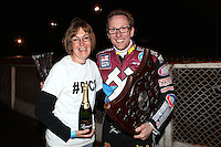 Lakeside Hammers Rider of the Month for September 2012 Peter Karlsson - Lee Richardson Memorial at the Arena Essex Raceway, Pufleet - 28/09/12 - MANDATORY CREDIT: Rob Newell/TGSPHOTO - Self billing applies where appropriate - 0845 094 6026 - contact@tgsphoto.co.uk - NO UNPAID USE.
