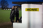 Alvechurch FC 3 Highgate United 0, 26/12/2016. Lye Meadow, Midland Football League Premier Division. Home manager Ian Long pictured in the dugout during the second-half at Lye Meadow as Alvechurch hosted Highgate United in a Midland Football League premier division match. Originally founded in 1929 and reformed in 1996 after going bust, the club has plans to move from their current historic ground to a new purpose-built stadium in time for the 2017-18 season. Alvechurch won this particular match by 3-0, watched by 178 spectators, taking them back to the top of the league. Photo by Colin McPherson.