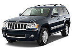 Front three quarter view of a 2009 Jeep Grand Cherokee 5 Door.