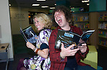 Stuart Cable the former Stereophonics drummer pictured with Cerys Matthews the former Catatonia singer at Swansea Library.. He has been found dead at his home in South Wales..