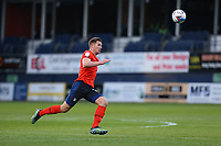 4th May 2021; Kenilworth Road, Luton, Bedfordshire, England; English Football League Championship Football, Luton Town versus Rotherham United; James Collins of Luton Town chases the through ball