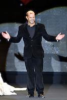 Roma 28/1/2004 <br /> Alta Moda Roma - Haute Couture - Fashion<br /> Dress collection of stylist Egon Von Furstenberg.<br /> In this picture the stylist Egon Von Furstenberg<br /> Foto Andrea Staccioli Insidefoto