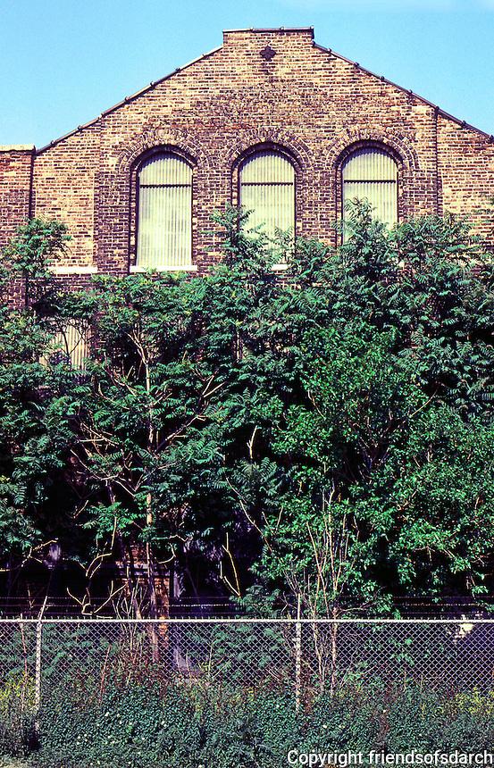 Pullman:  Industrial Ruin.  Photo '77.