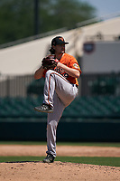 Baltimore Orioles pitcher Jonathan Pendergast (59) during a Minor League Spring Training game against the Detroit Tigers on April 14, 2021 at Joker Marchant Stadium in Lakeland, Florida.  (Mike Janes/Four Seam Images)