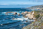 A section of the California coast in Sonoma County, off Highway 1 between Bodega Bay and Jenner.