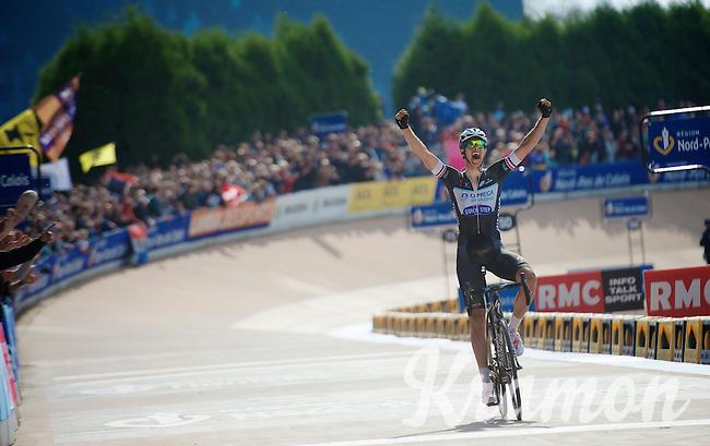 race winner: Niki Terpstra (NLD/OPQS)<br /> <br /> Paris-Roubaix 2014