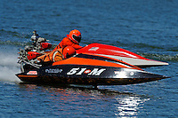 Mike Affholter (51-M) and 87-M  (runabout)