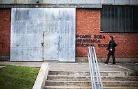 05.06.2013, Potocari ( Srebrenica ) Bosnia Herzegovina<br /> Memorial Centre Potocari<br /> Amra Begic e' nata nel 1978 ed e' cresciuta a Sebrenica. Nel 1995 durante il massacro di Srebrenica era a Tuzla ed ha assistito alla televisione serba la preparazione del massacro operato dall'esercito serbo in presenza della forza internazionale dell'Onu che ha assistito senza intervenire. Dal 2002 Amra Begic e' tornata a Srebrenica e guida i turisti al Memorial Center. L'esercito Serbo nel 1995 ha massacrato a Srebrenica circa 8.000 tra uomini e ragazzi Musulmani, la piu' grande atrocita' commessa in Europa dalla seconda guerra mondiale. <br /> Foto Insidefoto / EXPA/ Juergen Feichter