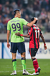 FC Seoul (KOR) vs Jeonbuk Hyundai Motors (KOR) during their AFC Champions League 2016 Semi Final match at Seoul World Cup Stadium on 19 October 2016, in Seoul, South Korea. Photo by Vivek Prakash / Power Sport Images