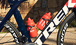 Trek Madone one of the team bikes of the Trek–Segafredo 2021 mens team during their winter training camp. 18th January 2021.<br /> Picture: Trek Factory Racing | Cyclefile<br /> <br /> All photos usage must carry mandatory copyright credit (© Cyclefile | Trek Factory Racing)