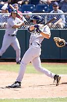 Eugene Emeralds outfielder Michael Gallic #10 before a game against the Everett AquaSox at Everett Memorial Stadium on June 26, 2011 in Everett, WA.  Eugene defeated Everett 14-4.  (Ronnie Allen/Four Seam Images)