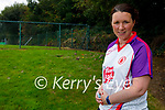 Tyrone supporter Claire Tracey-O'Driscoll who attended the All-Ireland Semi-final