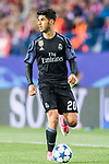 Marco Asensio Willemsen of Real Madrid in action during their 2016-17 UEFA Champions League Semifinals 2nd leg match between Atletico de Madrid and Real Madrid at the Estadio Vicente Calderon on 10 May 2017 in Madrid, Spain. Photo by Diego Gonzalez Souto / Power Sport Images