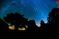Stars over Annaberg Ruins<br /> Virgin Islands National Park<br /> St. John<br /> US Virgin Islands