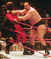 Big Show Kane    1999                                                              Photo by  John Barrett/PHOTOlink