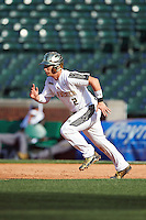 Michael Amditis (2) of the National team running the bases during Under Armour All-American Game presented by Baseball Factory on August 15, 2015 at Wrigley Field in Chicago, Illinois.  The National team defeated the American team 11-5.  (Mike Janes/Four Seam Images)