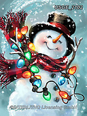 Dona Gelsinger, CHRISTMAS SANTA, SNOWMAN, WEIHNACHTSMÄNNER, SCHNEEMÄNNER, PAPÁ NOEL, MUÑECOS DE NIEVE, paintings+++++,USGE2102,#x#