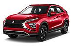 2021 Mitsubishi Eclipse-Cross-PHEV Intense-Edition 5 Door SUV Angular Front automotive stock photos of front three quarter view