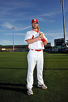 Mar 01, 2010; Jupiter, FL, USA; St. Louis Cardinals infielder Skip Schumaker (55) during  photoday at Roger Dean Stadium. Mandatory Credit: Tomasso De Rosa/ Four Seam Images