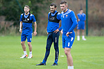 St Johnstone Training……26.08.20   McDiarmid Park <br />Murray Davidson pictured back in training alongside David Wotherspoon and Liam Gordon in preparation for Saturday's game against St Mirren.<br />Picture by Graeme Hart.<br />Copyright Perthshire Picture Agency<br />Tel: 01738 623350  Mobile: 07990 594431